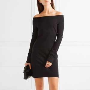 The Row 'Hunting' Off Shoulder Dress